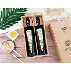 米諾斯MINOS®特級冷壓初榨橄欖油禮盒組-750ML*2入